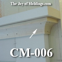 small cove crown molding