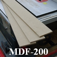 half inch mdf sheet for baseboards
