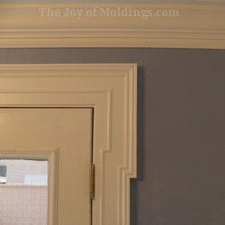 diy mdf door trim molding greek revival