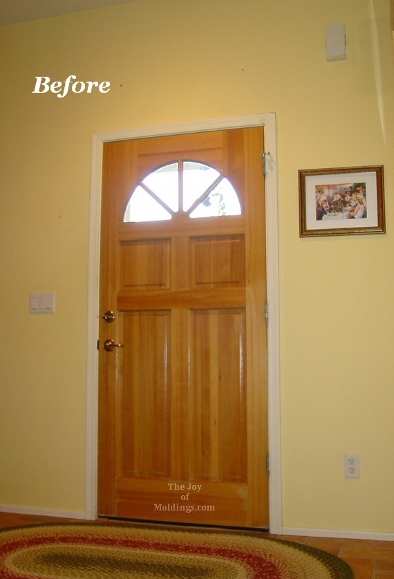 mdf painted door trim