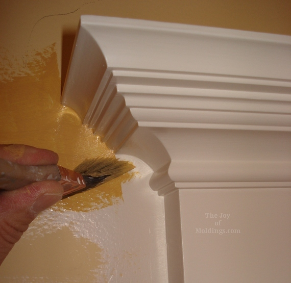 Paint Around Door Trim Molding Walls With Floetrol X I M The Joy Of