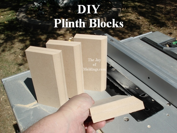 door trim molding architrave plinth blocks