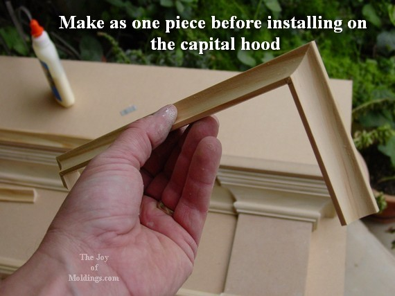 cove molding for door header