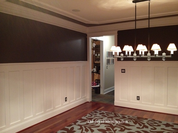 Wainscoting Height for Dining Room  Weekly Geek Design