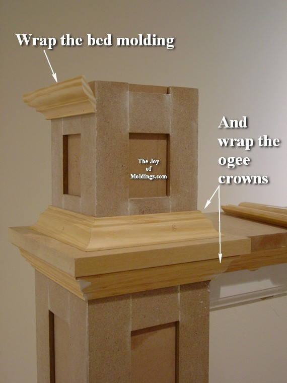 How To Build Newel Post 100 Part 2 The Joy Of Moldings Com