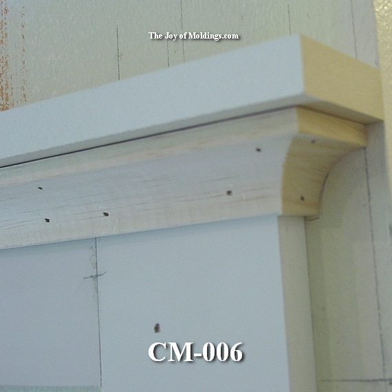 cove molding for craftsman style moldings