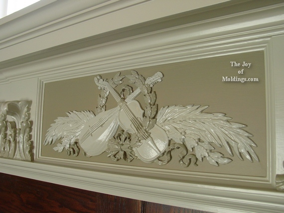 ornate front door trim molding