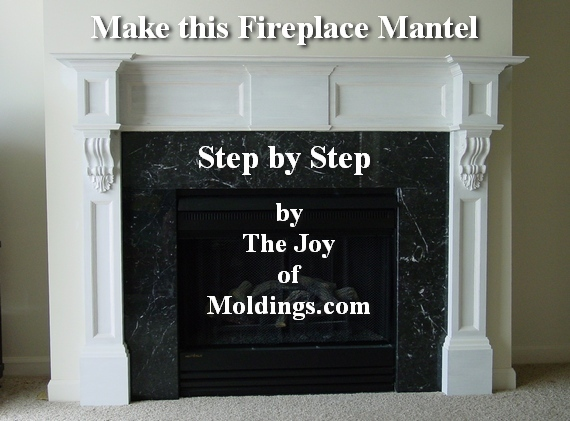 fireplace mantel diy free plans