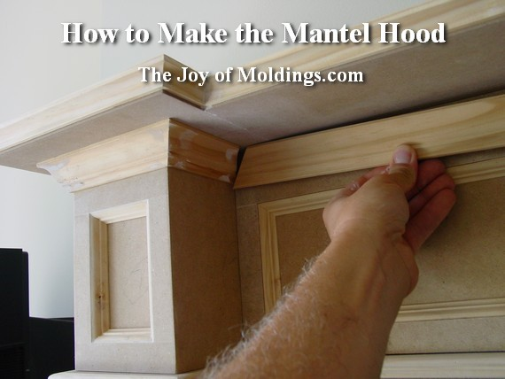 How To Build A Wood Mantel Surround