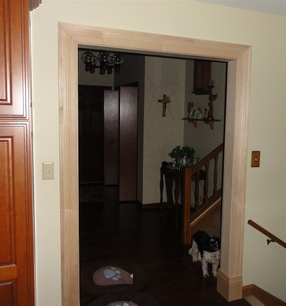 door trim molding for small archway