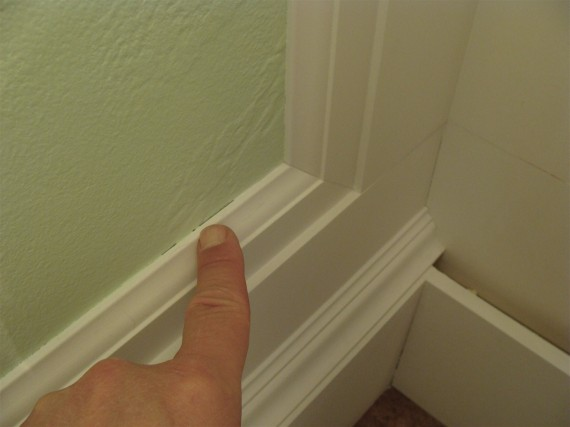 how to caulk moldings and millwork